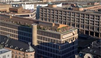 Top floor inkl egen terrass med kvällssol