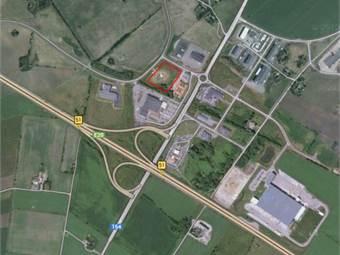 Torsholmsvägen, Falkenbergsmotet, Falkenberg - Industritomt