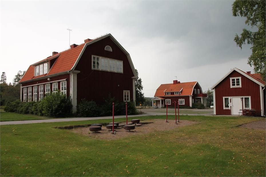 Stora skolbyggnaden