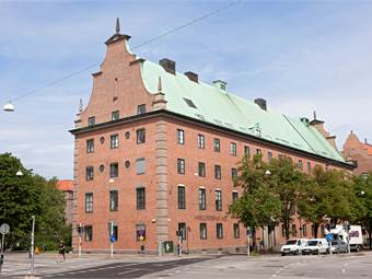 Det gamla Sockerhuset på Fersens väg
