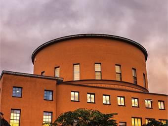 Utsikt över Stadsbiblioteket