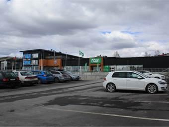 Bangårdsgatan, Storsjö Torg, Östersund - ButikLager/Logistik