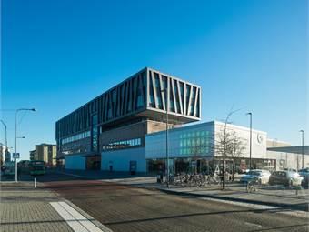 Gottsunda Centrum, norra fasaden