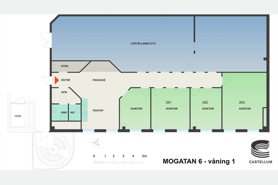 Mogatan 6 - Kontor