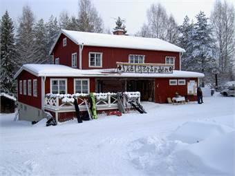 Skålsjögårdens huvudbyggnad, entré