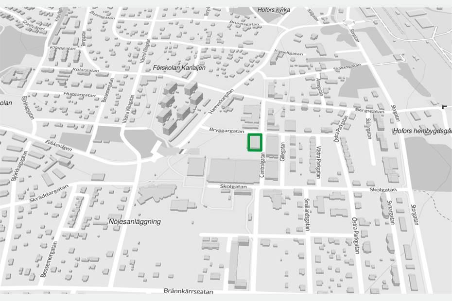 Centralgatan 20, Centrala Hofors, Hofors - ButikÖvrigt