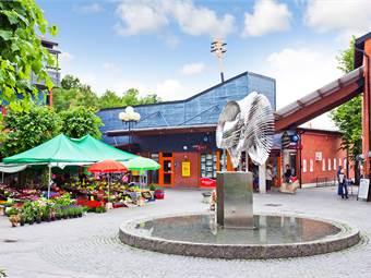 Miljöbild Ekerö Centrum