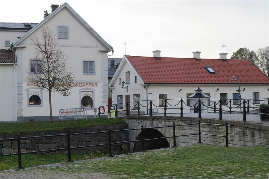 Huset visar sitt välbekanta ansikte från Rådhustorget