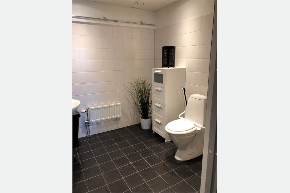 Nyrenoverade WC
