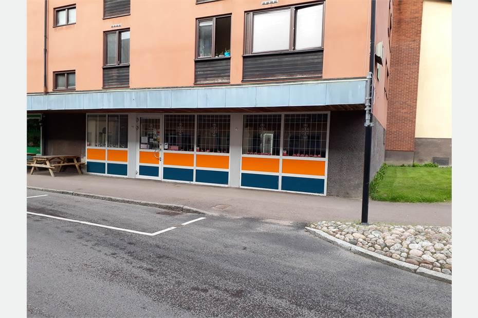 Ledig butikslokal vid Tegnérgatan.