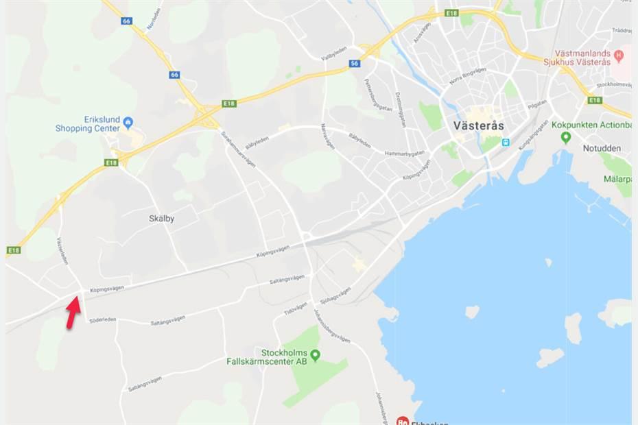 Långängskrogen 9, Erikslund, Västerås - Industritomt