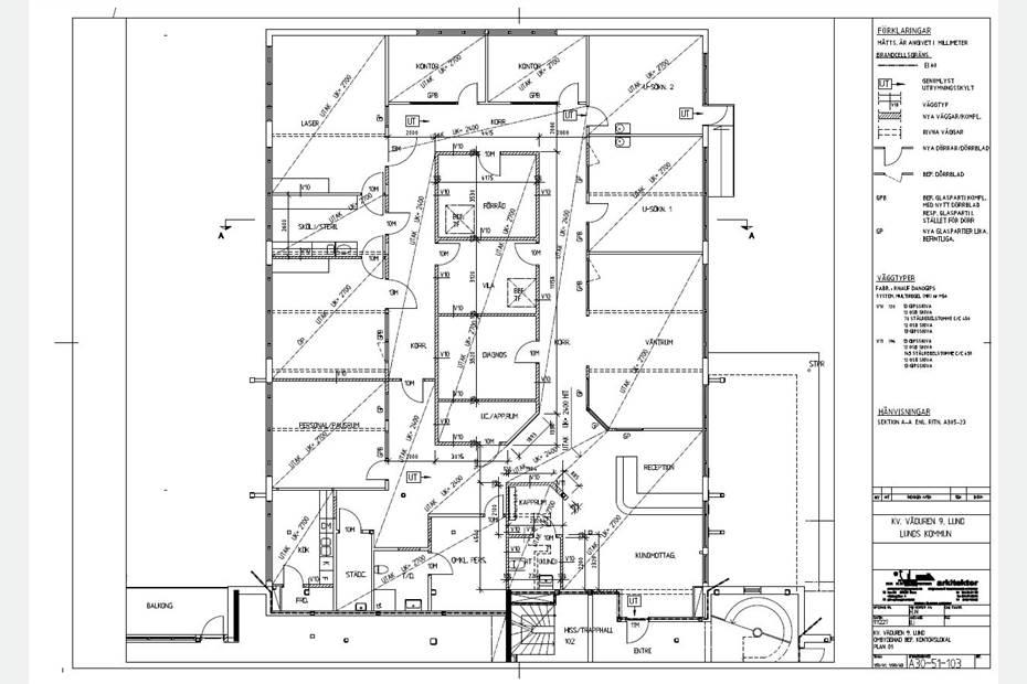 Planlösning kontor (anpassningsbart)