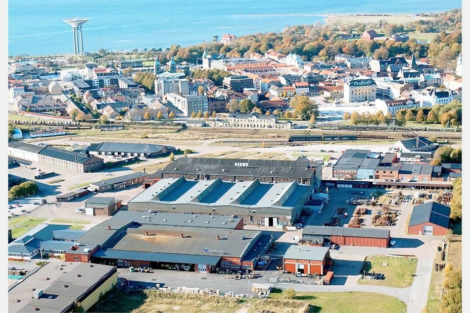 Östra Kajgatan, Landskrona hamn, Landskrona - Industri/verkstad