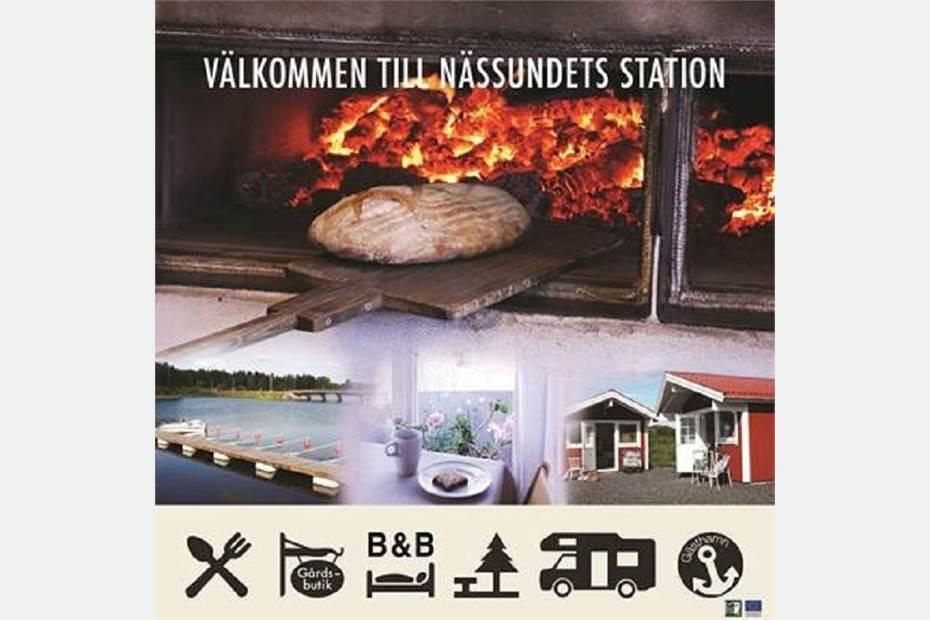 Nässundets Station till salu, Nässundet, Kristinehamn - Restaurang