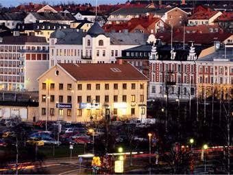 Affärslokal i Härnösands centrum