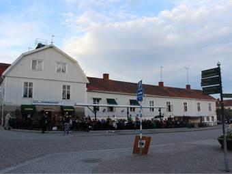 Framsida av restaurangen