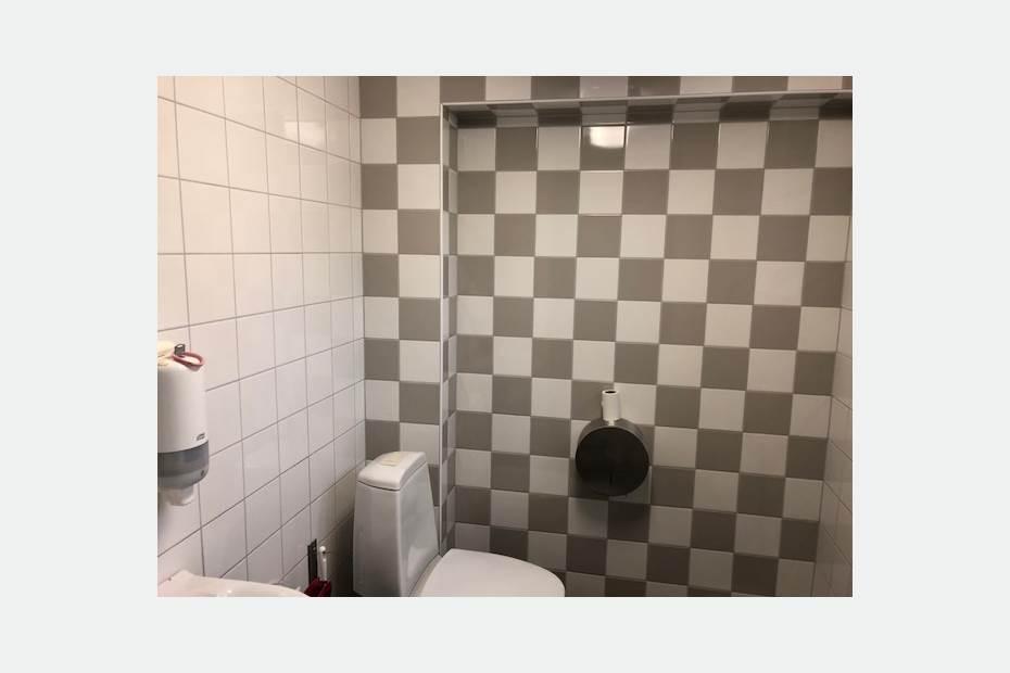 En av toaletterna