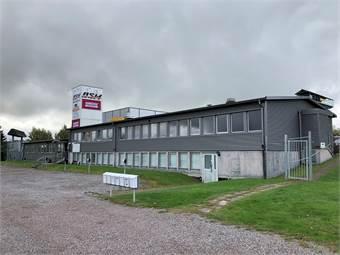 Kontorshotellet utvändigt från RV70.