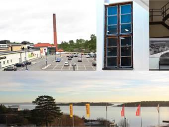 Kontor ovanpå gallerian