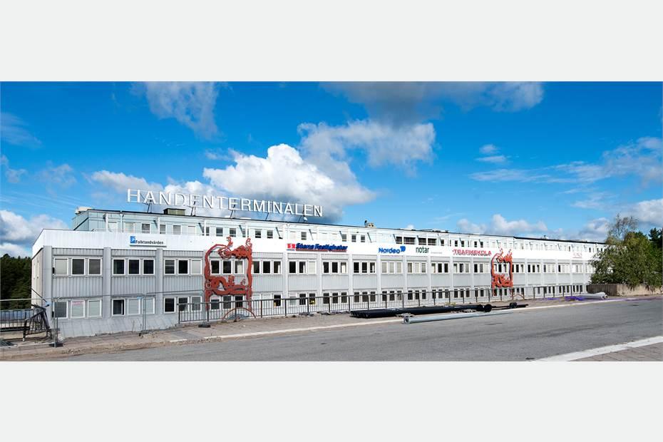 Handenterminalen 4, Haninge, Kontor