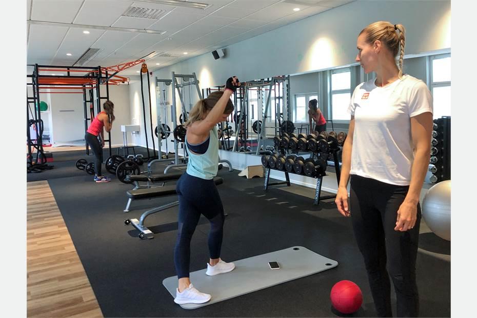 Gym exklusivt för fastighetens hyresgäster
