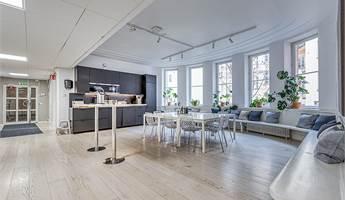 Kök och lounge