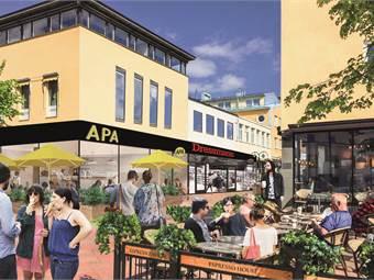 Härnösand City- APA och Espresso House