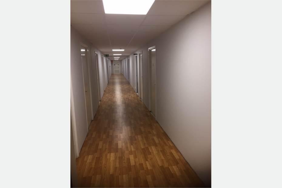 kontorshotell korridor