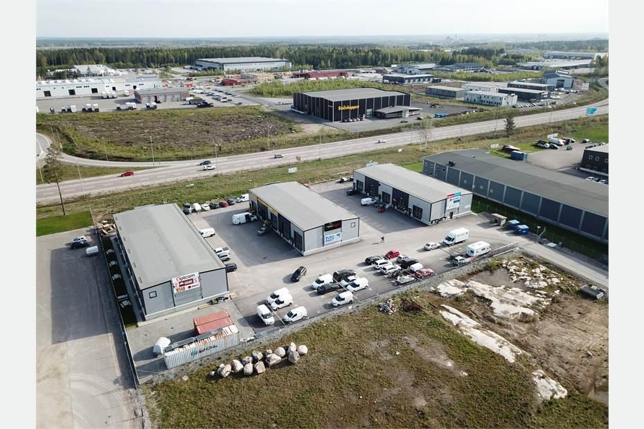 Berglundavägen 1E, Truckstop, Örebro - Butik Industri/Verkstad Kont