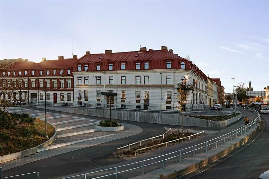 Stationsgatan 30, Östra förstaden, Halmstad - Kontor
