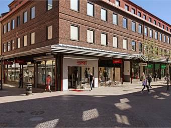 Köpmansgatan 2, Centrum, Halmstad - Butik