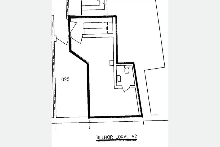 Plan -1 28 kvm personalutrymme/lager