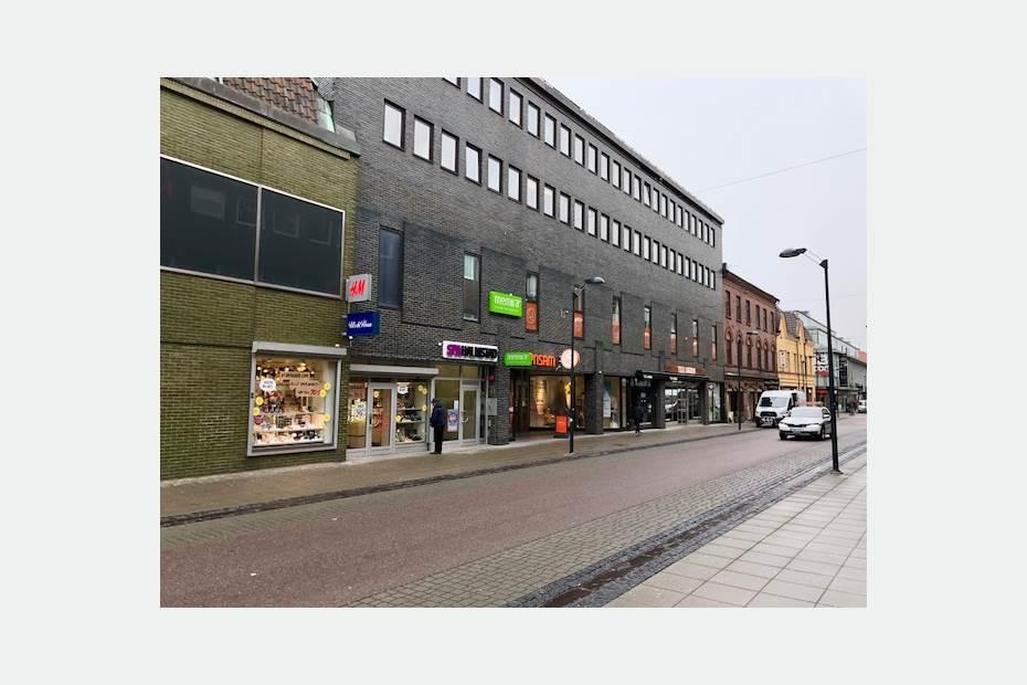 Brogatan 3, Centrum, Halmstad - Butik Kontor