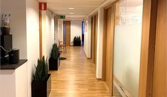 Korridor vy väster