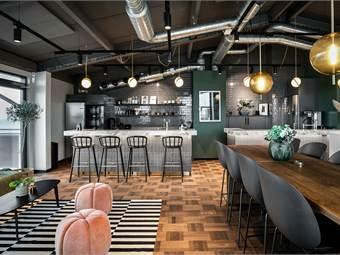 Loungeavdelning Båthusgatan 9, Helsingborg