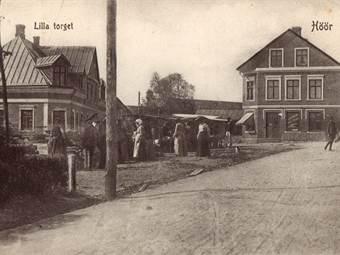 Lilla Torg, Höör ca. 1911