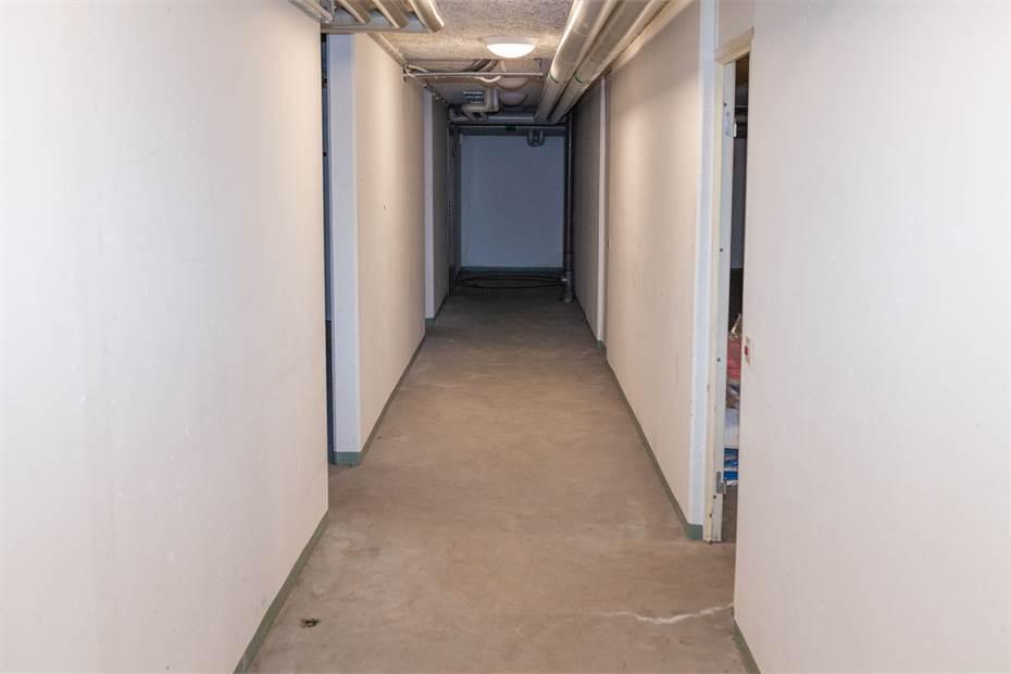 Korridor, vy från ytterdörren