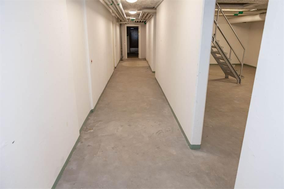 Korridor, vy mot ytterdörren
