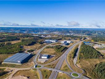 Rönnåsgatan, Rönnåsens industriområde, Ulricehamn - Handel Övrigt