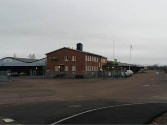 Funktionell lagerlokal på 4500 kvadratmeter.