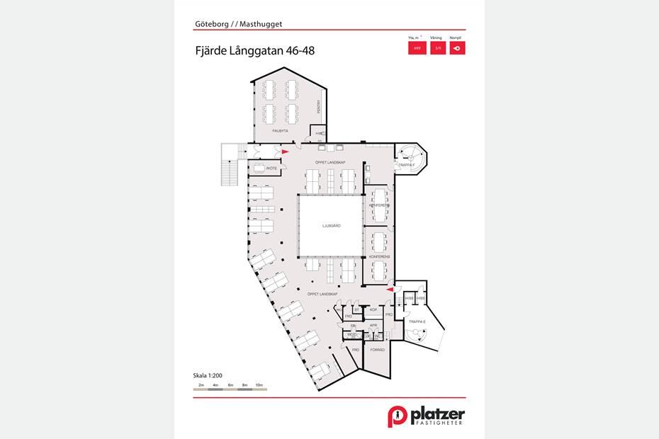 Fjärde Långgatan 46-48, Centrum, Göteborg - Kontor