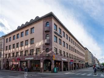 Fasad Vaksalagatan/Dragarbrunnsgatan