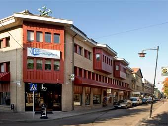 Fasad Stadshusgränd/Slaggatan