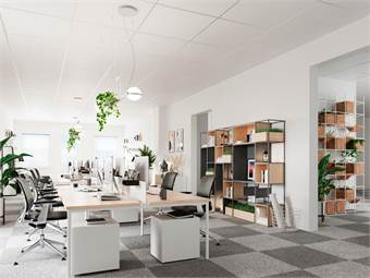 Visualiseringsbild kontor