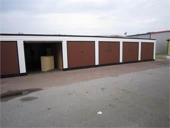 Bild på garageport