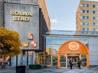 Solna Centrum, Solna Kommun / Solna Torg 3, Solna - Kontor