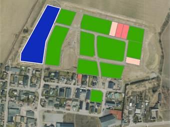 Aktuella fastigheter grönmarkerat