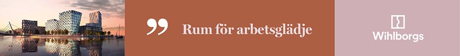 Banner för Wihlborgs Fastigheter AB