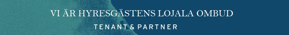 Banner för Tenant & Partner AB